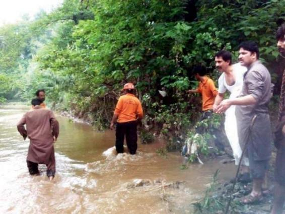 Boy drowned in stream