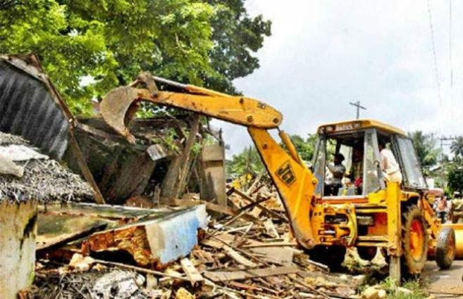TMA confiscates five truckload goods under anti-encroachment operation