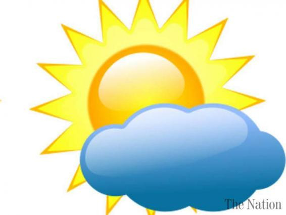 Partly cloudy weather forecast