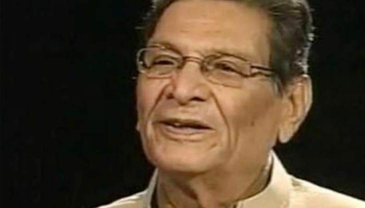 Senate offers 'Fateha' for veteran politician Miraj Mohammad Khan