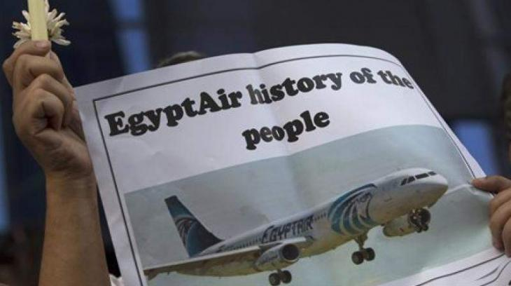 Doomed EgyptAir flight broke up midair after fire: report