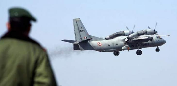 India steps up search for missing military plane