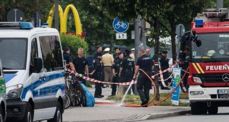 Three Turks among Munich shooting dead: foreign minister