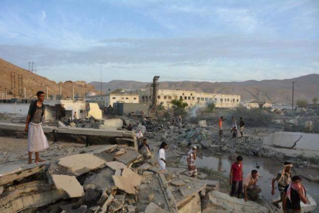 Coalition air strikes hit Qaeda in Yemen