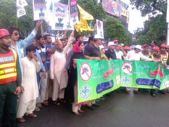 Rescue 1122 observes anti dengue day