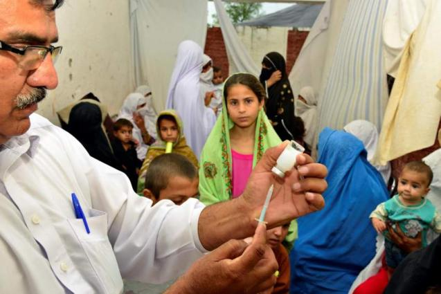 Measures being taken to end polio