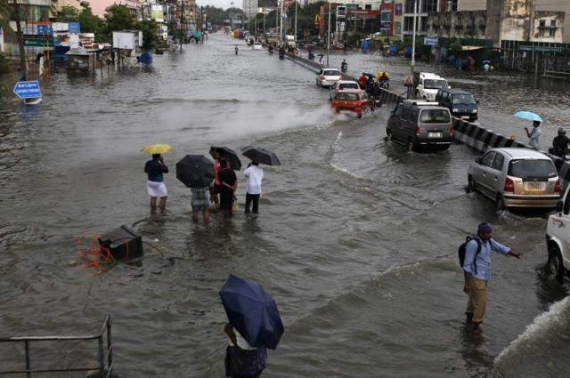 City receives rain