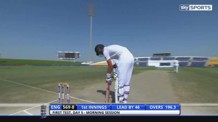 Cricket: England 589-8 dec against Pakistan