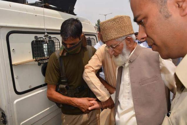 Indian police arrest Syed Ali Gilani in Srinagar