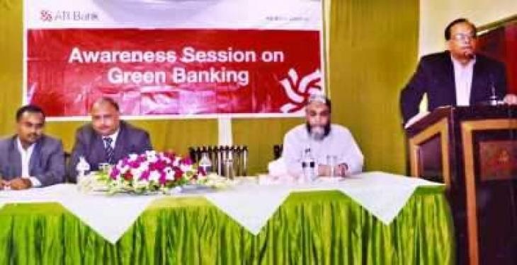 Awareness session on Green Banking