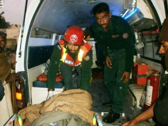 Five injured in accident