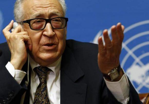 UN Syria envoy to meet US, Russian officials Tuesday: UN