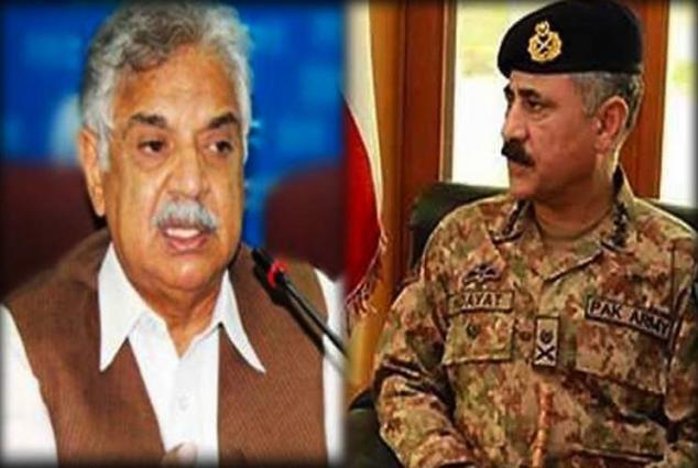 Corps Commanders Peshawar meets KP Governor