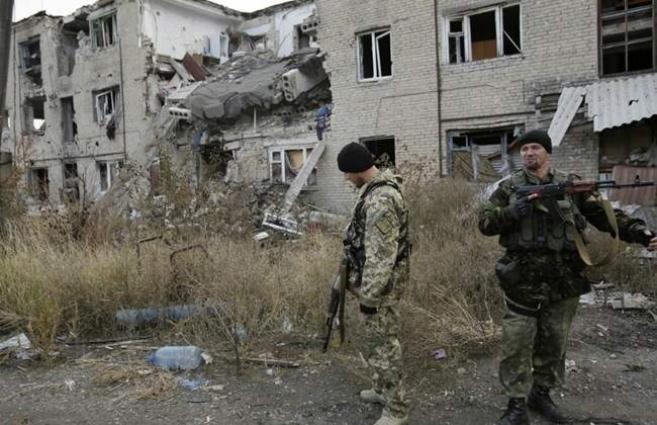 Three Ukrainian soldiers killed in separatist east