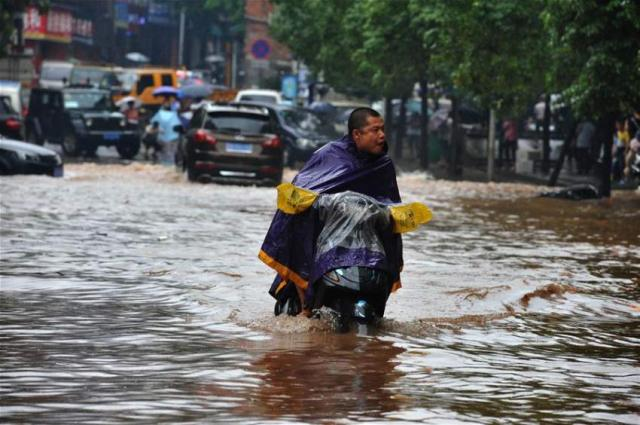 Nearly 300 dead or missing from China flooding: Xinhua