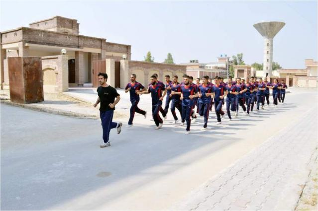 KP IGP visits Police Training School Swabi
