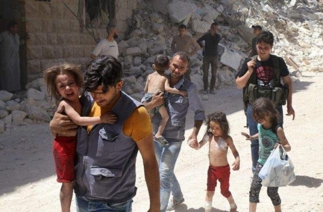 France calls for immediate humanitarian truce in Syria's Aleppo