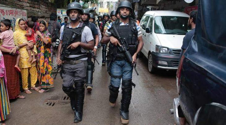 Bangladesh police say 9 militants killed in Dhaka raid