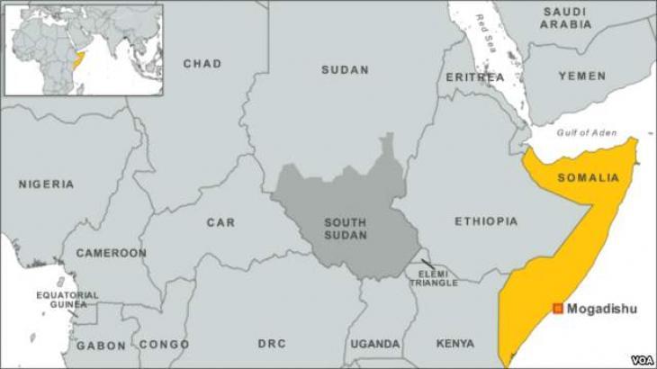 Bomb explosions shook Mogadishu Airport