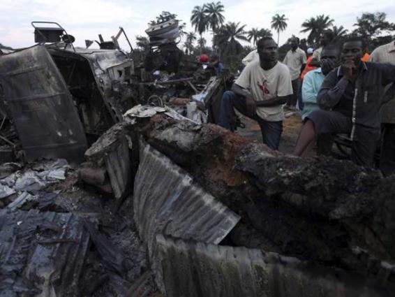 Nigeria petrol tanker fire kills two, causes mayhem: official
