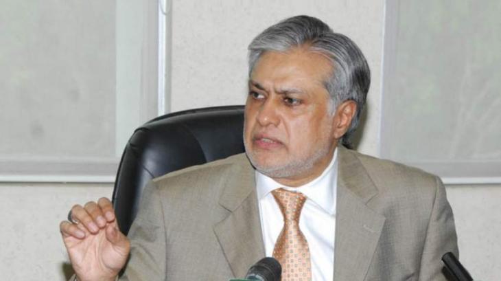 السفير الباكستاني لدى أمريكا يلتقي وزير المالية اسحاق دار