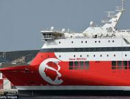 French ferry evacuated after mystery underwater blast