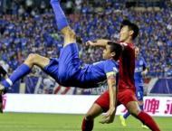 Football: Shanghai Shenhua win Yangtze derby