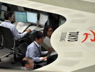 Tokyo stocks slip by break, extend global sell-off