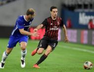 Football: Chelsea thump AC Milan 3-1