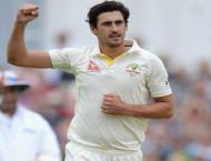Cricket: Australia's Starc bags 100 Test wickets