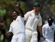 Cricket: Herath hat-trick puts Lanka on top in Galle