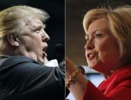 Trump criticized for offhand gun rights slap at Clinton