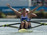 Olympics: Grainger, 40, denied as Poland win double sculls gold