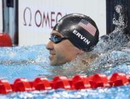 Olympics: USA's Ervin wins men's 50m freestyle gold