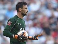 Football: Spurs keeper Lloris injured on opening day