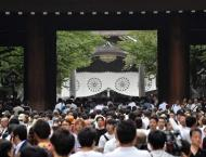Japan, S. Korea strike conciliatory note on war anniversary