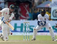 Sri Lanka v Australia 3rd Test scoreboard