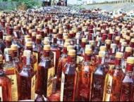 Huge quantity of drugs, liquor seized