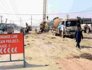 Work going ahead fast on Orange Bus Lane project: Nasir Shah