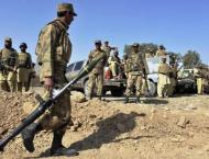 Operation in Khyber Agency, 13 terrorists killed in bombing