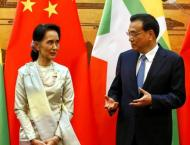 Myanmar's Suu Kyi says China to support peace talks