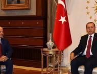 Turkey's Erdogan meets with KRG's Barzani