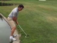 Golf: Dredge edges towards first win in decade