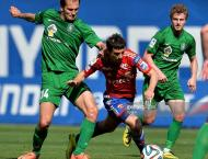 Football: CSKA win at Tomsk to go top in Russia