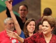 Scant rallies for Brazil's Rousseff before big day