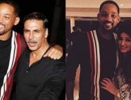 Will Smith Attends Akshay Kumar and Twinkle Khanna's celebration  ..