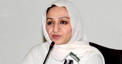 وزيرة الدولة للخدمات الصححية الباكستانية: سياسة الاحتجاج ستضررالتنمية الوطنية