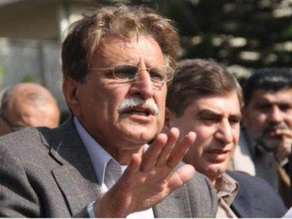 رئيس وزراء منطقة كشمير الحرة يرحب بمبادرة رئيس الوزراء نواز شريف لإرسال مندوبين خاص إلى مختلف أنحاء العالم لرفع كشمير