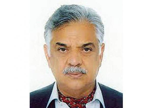 محافظ إقليم خيبر بختونخا الباكستاني: تم استعادة السلام في جميع أنحاءالبلاد بسبب العملية العسكرية ضرب عضب