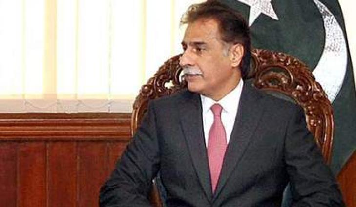 رئيس البرلمان الباكستاني يستنكر تفجيرا انتحاريا استهدف مستشفى بمدينةكويتا عاصمة إقليم بلوشستان